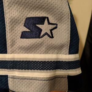 Shirts - Vtg 90s Starter Los Angeles Dodgers Sewn Jersey